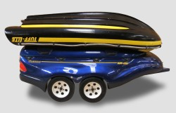 Tuff Light Trailer with boat